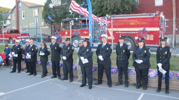 Sept. 11 Remembrance, Memorial Service, Jackie Jones, South Ward Playground, Tamaqua (100)