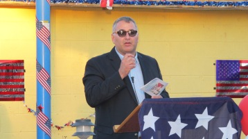 Sept. 11 Remembrance, Memorial Service, Jackie Jones, South Ward Playground, Tamaqua (111)