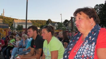Sept. 11 Remembrance, Memorial Service, Jackie Jones, South Ward Playground, Tamaqua (114)