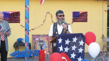 Sept. 11 Remembrance, Memorial Service, Jackie Jones, South Ward Playground, Tamaqua (116)