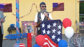 Sept. 11 Remembrance, Memorial Service, Jackie Jones, South Ward Playground, Tamaqua (117)