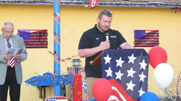 Sept. 11 Remembrance, Memorial Service, Jackie Jones, South Ward Playground, Tamaqua (127)