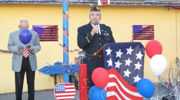 Sept. 11 Remembrance, Memorial Service, Jackie Jones, South Ward Playground, Tamaqua (129)