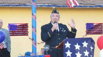 Sept. 11 Remembrance, Memorial Service, Jackie Jones, South Ward Playground, Tamaqua (130)