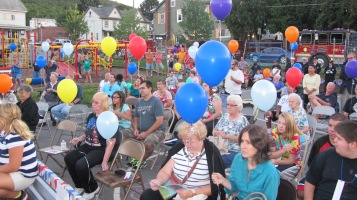 Sept. 11 Remembrance, Memorial Service, Jackie Jones, South Ward Playground, Tamaqua (138)