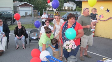Sept. 11 Remembrance, Memorial Service, Jackie Jones, South Ward Playground, Tamaqua (143)