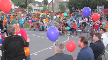 Sept. 11 Remembrance, Memorial Service, Jackie Jones, South Ward Playground, Tamaqua (145)
