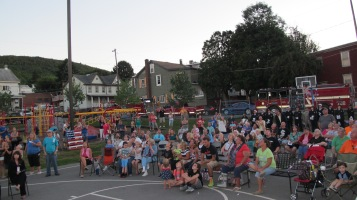 Sept. 11 Remembrance, Memorial Service, Jackie Jones, South Ward Playground, Tamaqua (151)