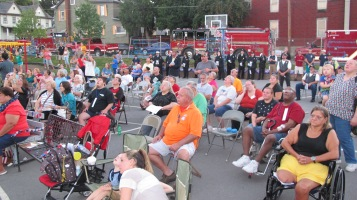 Sept. 11 Remembrance, Memorial Service, Jackie Jones, South Ward Playground, Tamaqua (153)