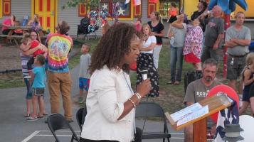 Sept. 11 Remembrance, Memorial Service, Jackie Jones, South Ward Playground, Tamaqua (155)