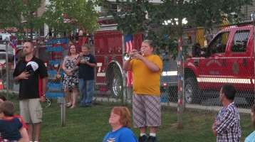 Sept. 11 Remembrance, Memorial Service, Jackie Jones, South Ward Playground, Tamaqua (158)