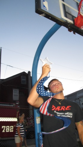 Sept. 11 Remembrance, Memorial Service, Jackie Jones, South Ward Playground, Tamaqua (164)