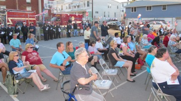 Sept. 11 Remembrance, Memorial Service, Jackie Jones, South Ward Playground, Tamaqua (17)