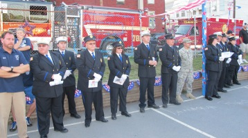 Sept. 11 Remembrance, Memorial Service, Jackie Jones, South Ward Playground, Tamaqua (19)