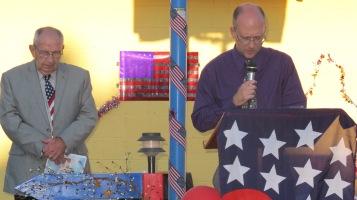 Sept. 11 Remembrance, Memorial Service, Jackie Jones, South Ward Playground, Tamaqua (2)