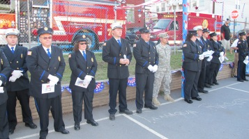 Sept. 11 Remembrance, Memorial Service, Jackie Jones, South Ward Playground, Tamaqua (20)