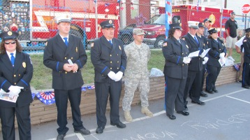 Sept. 11 Remembrance, Memorial Service, Jackie Jones, South Ward Playground, Tamaqua (21)