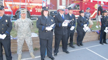 Sept. 11 Remembrance, Memorial Service, Jackie Jones, South Ward Playground, Tamaqua (22)