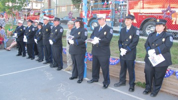 Sept. 11 Remembrance, Memorial Service, Jackie Jones, South Ward Playground, Tamaqua (26)