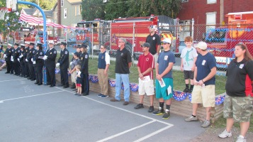 Sept. 11 Remembrance, Memorial Service, Jackie Jones, South Ward Playground, Tamaqua (30)