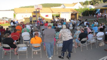 Sept. 11 Remembrance, Memorial Service, Jackie Jones, South Ward Playground, Tamaqua (31)
