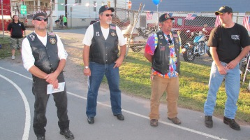 Sept. 11 Remembrance, Memorial Service, Jackie Jones, South Ward Playground, Tamaqua (33)