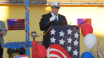 Sept. 11 Remembrance, Memorial Service, Jackie Jones, South Ward Playground, Tamaqua (36)
