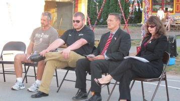 Sept. 11 Remembrance, Memorial Service, Jackie Jones, South Ward Playground, Tamaqua (37)