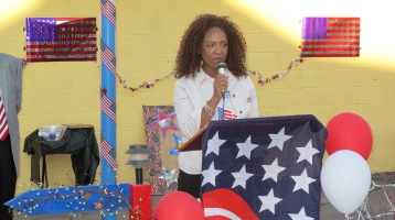 Sept. 11 Remembrance, Memorial Service, Jackie Jones, South Ward Playground, Tamaqua (39)