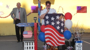 Sept. 11 Remembrance, Memorial Service, Jackie Jones, South Ward Playground, Tamaqua (4)