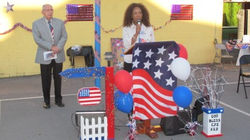 Sept. 11 Remembrance, Memorial Service, Jackie Jones, South Ward Playground, Tamaqua (40)