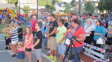 Sept. 11 Remembrance, Memorial Service, Jackie Jones, South Ward Playground, Tamaqua (42)