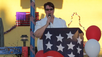 Sept. 11 Remembrance, Memorial Service, Jackie Jones, South Ward Playground, Tamaqua (5)