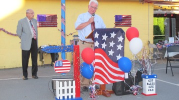 Sept. 11 Remembrance, Memorial Service, Jackie Jones, South Ward Playground, Tamaqua (52)