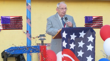 Sept. 11 Remembrance, Memorial Service, Jackie Jones, South Ward Playground, Tamaqua (58)