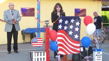 Sept. 11 Remembrance, Memorial Service, Jackie Jones, South Ward Playground, Tamaqua (60)