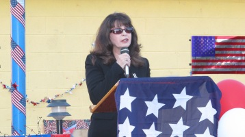 Sept. 11 Remembrance, Memorial Service, Jackie Jones, South Ward Playground, Tamaqua (63)
