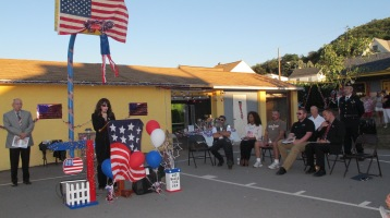 Sept. 11 Remembrance, Memorial Service, Jackie Jones, South Ward Playground, Tamaqua (67)