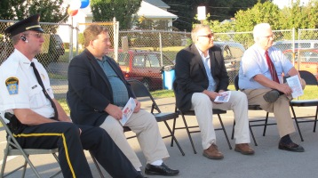 Sept. 11 Remembrance, Memorial Service, Jackie Jones, South Ward Playground, Tamaqua (7)
