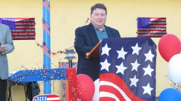 Sept. 11 Remembrance, Memorial Service, Jackie Jones, South Ward Playground, Tamaqua (70)