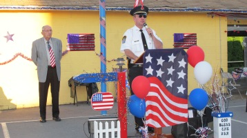 Sept. 11 Remembrance, Memorial Service, Jackie Jones, South Ward Playground, Tamaqua (78)