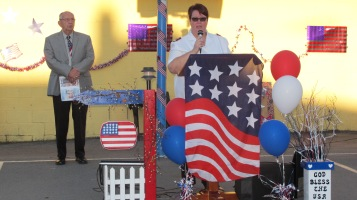 Sept. 11 Remembrance, Memorial Service, Jackie Jones, South Ward Playground, Tamaqua (8)