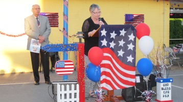 Sept. 11 Remembrance, Memorial Service, Jackie Jones, South Ward Playground, Tamaqua (82)