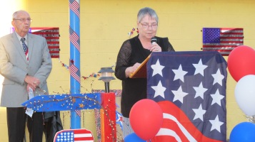 Sept. 11 Remembrance, Memorial Service, Jackie Jones, South Ward Playground, Tamaqua (83)