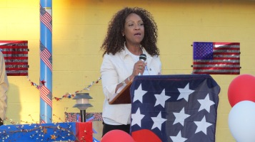 Sept. 11 Remembrance, Memorial Service, Jackie Jones, South Ward Playground, Tamaqua (89)