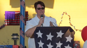 Sept. 11 Remembrance, Memorial Service, Jackie Jones, South Ward Playground, Tamaqua (9)