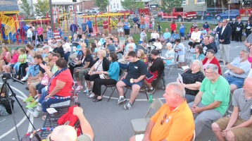 Sept. 11 Remembrance, Memorial Service, Jackie Jones, South Ward Playground, Tamaqua (93)