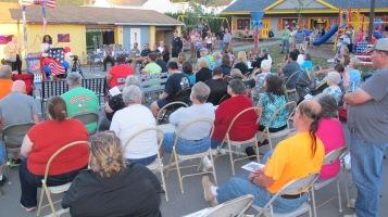 Sept. 11 Remembrance, Memorial Service, Jackie Jones, South Ward Playground, Tamaqua (96)