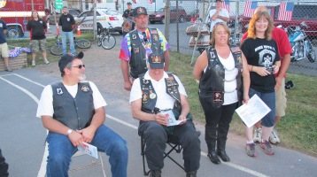 Sept. 11 Remembrance, Memorial Service, Jackie Jones, South Ward Playground, Tamaqua (99)