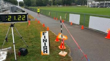 St. Luke's Cares For Kids 5K, Kids Fun Run, PV Football Field, Lansford, (200)